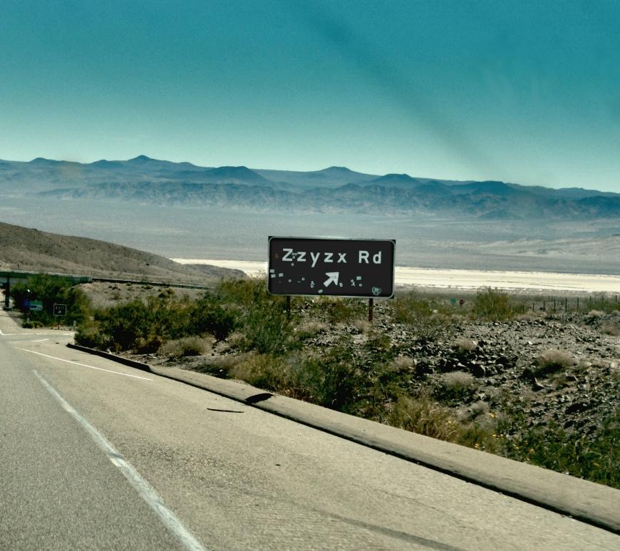 ZZyzx, Califórnia (EUA) - Grémio Geográphico
