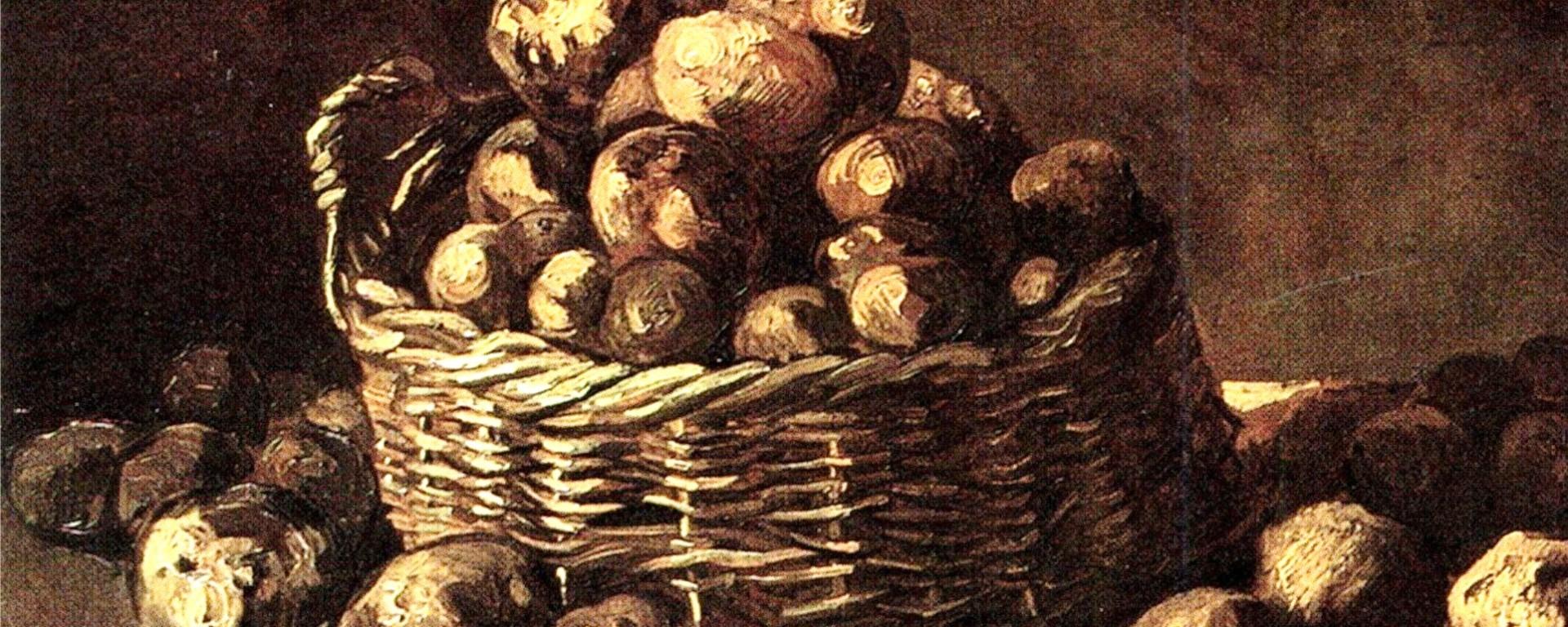 Grémio Geográphico. Cesto de batatas, Vincent van Gogh (1885). (C) Van Gogh. Museum, Amsterdam (Vincent van Gogh Foundation)
