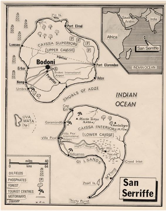 San Serriffe, Grémio Geográphico