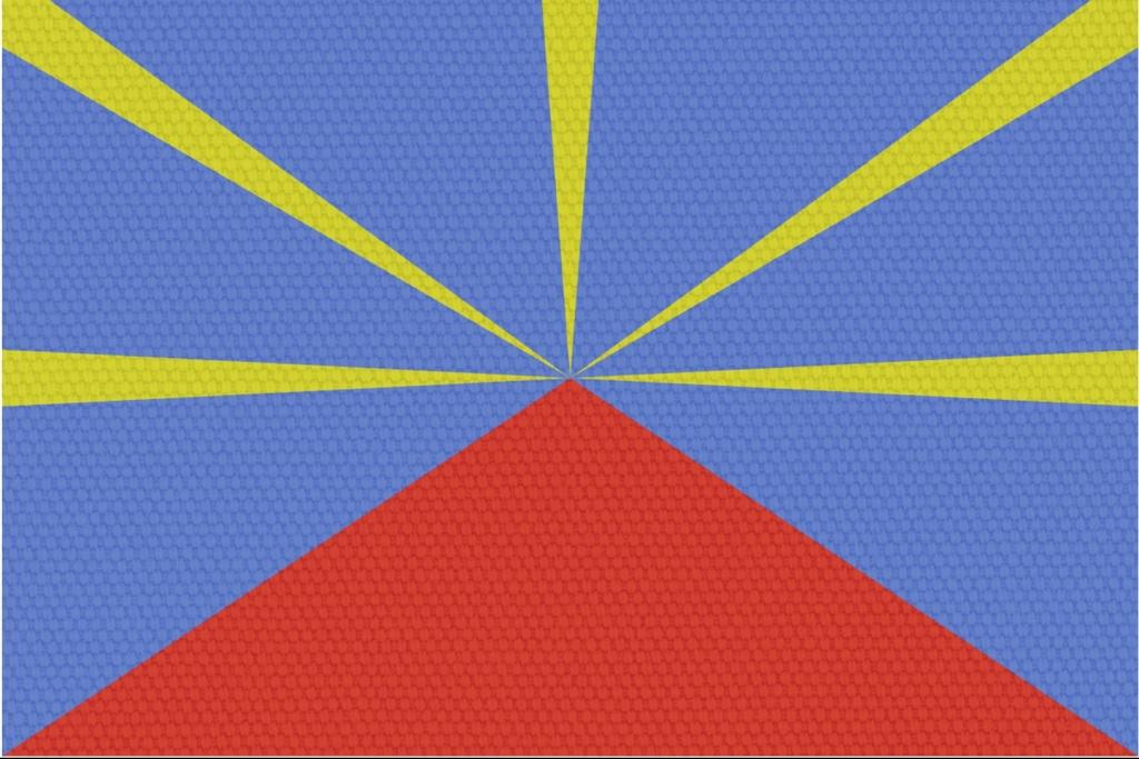 bandeira ilha reunião drapeu ile reunion grémio geográphico
